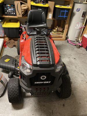 Troy-Bilt Bronco 46X Riding Lawn Mower — 547cc Troy-Bilt OHV Engine, 46in. Deck for Sale in Ruskin, FL