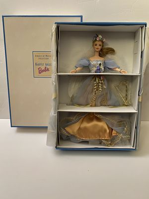 Barbie Doll 1997 Angels Of Music Collection Harpist Angel Mattel #18894 for Sale in Arcadia, CA