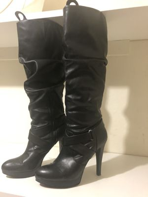 INC Black boots size 8.5 for Sale in Kirkland, WA