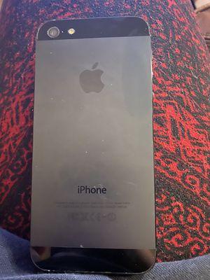 black iPhone 5 32G for Sale in Phoenix, AZ