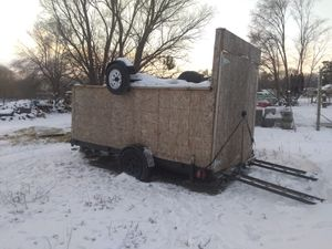 Car trailer 14x8 good conditions for Sale in Wenatchee, WA