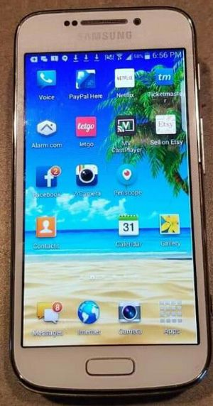 Samsung Galaxy S4 zoom cell phone /camera white unlocked for Sale in Weirton, WV