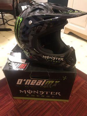 Motorcycle helmet, never used! DOT certified for Sale in Fontana, CA