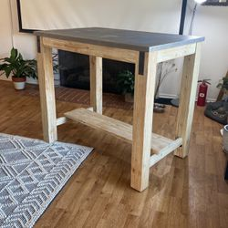 Industrial Barn Style High top Table - Kitchen Breakfast for Sale in Los Angeles,  CA