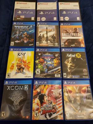 PS4 Games for Sell/Trade for Sale in Hawthorne, CA