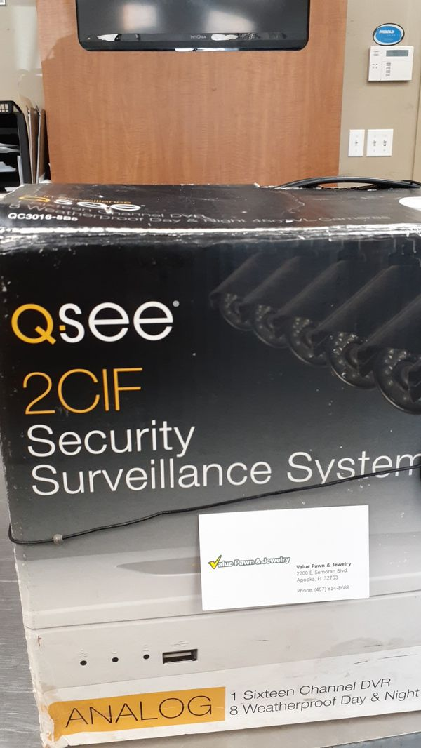 Q.see security surveillance system