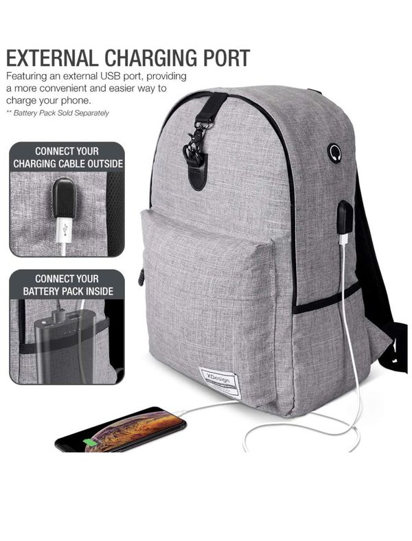 """Laptop backpack Fits """"16"""