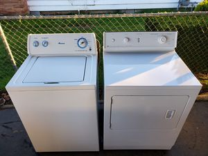 Amana washer and gas dryer Works Great !!! for Sale in Portland, OR