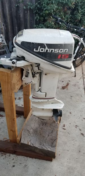 15 HP Johnson Outboard Motor for Sale in Concord, CA