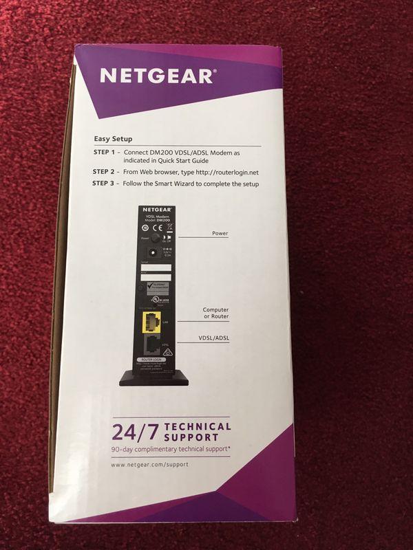 NETGEAR High-Speed DSL Modem