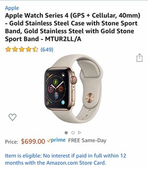 Apple Watch series 4 40mm gold stainless steel for Sale in La Verne, CA