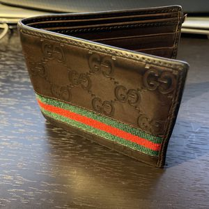 Gucci Leather Wallet for Sale in Seattle, WA