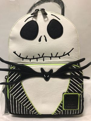 Jack Skellington Nightmare Before Christmas loungefly Backpack for Sale in Fullerton, CA