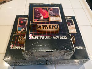 1990-91 Skybox Basketball Card Wax Box for Sale in Riverside, CA
