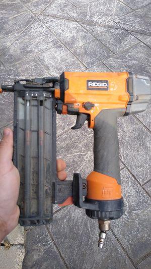 Ridgid nail gun for Sale in San Fernando, CA