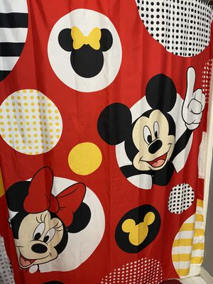 Mickey and Minnie Shower Curtain for Sale in Rockford, IL