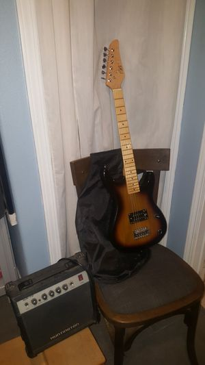 KIDS ELECTRIC GUITAR AMP & BAG for Sale in San Diego, CA