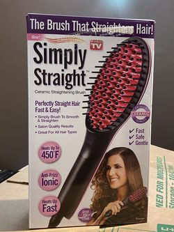 Simply Straight Hair Straightener for Sale in Milton,  MA