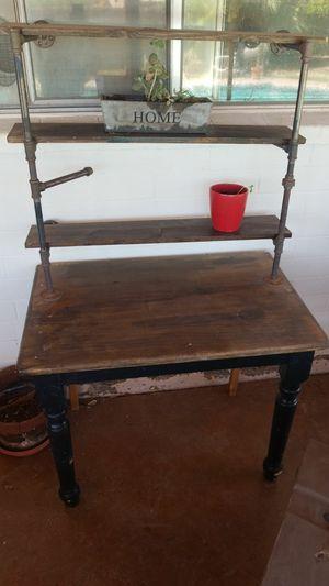 Wood desk for Sale in Scottsdale, AZ