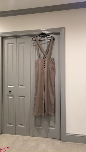 Brown dress overall pants for Sale in Los Angeles, CA