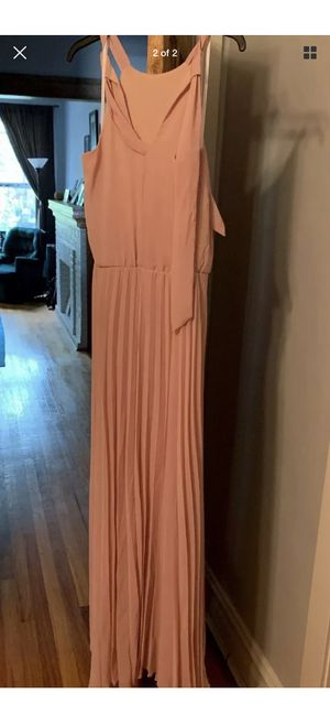 Misses Champagne/Pink Floor Length Dress - Size 6 for Sale in Chicago, IL