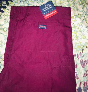 Unisex Maroon Scrub Pants for Sale in West Springfield, VA