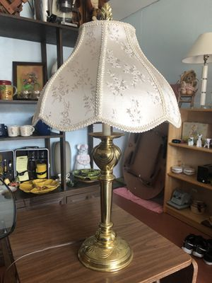 Vintage Brass Stiffel Lamp /With Shade for Sale in Punta Gorda, FL