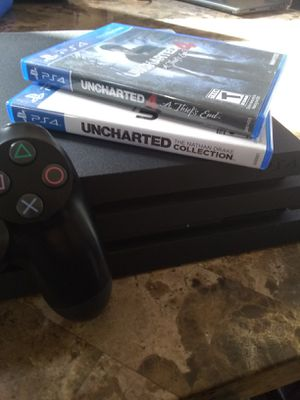 Playstation 4 Pro with Games (PS4 Pro) for Sale in Sacramento, CA