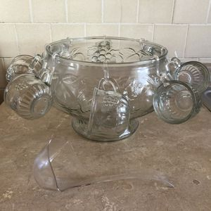 Antique Glass Punch-bowl for Sale in North Providence, RI
