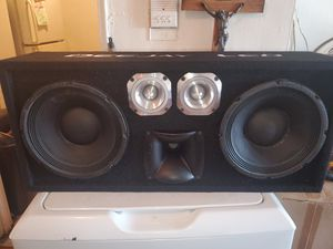 """10"""" EMINENCE KAPPA PRO 10A CHUCHERO BOX 3500WATTS OF PURE VOCALS for Sale in The Bronx, NY"""