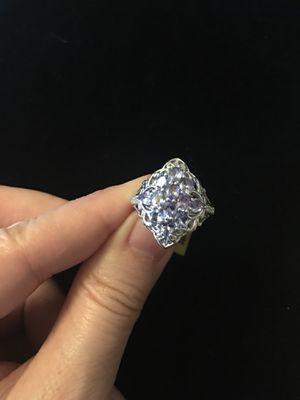 Genuine Tanzanite and silver ring size 5 for Sale in West Richland, WA
