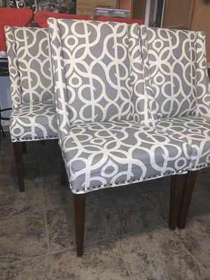 Pier 1 dining chairs set (6) for Sale in Paauilo, HI