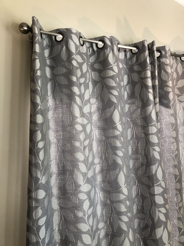 Jcpenny Cindy Crawford Leaf Drapes Panel Curtain Grommet