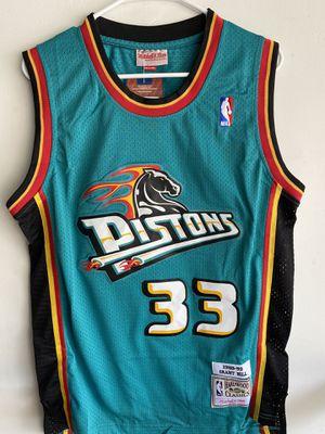 Detroit Pistons Grant Hill new men jersey size s m l xl for Sale in Pico Rivera, CA