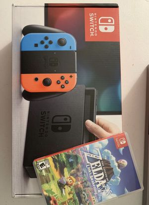 Nintendo switch (neon, v1) for Sale in Fontana, CA