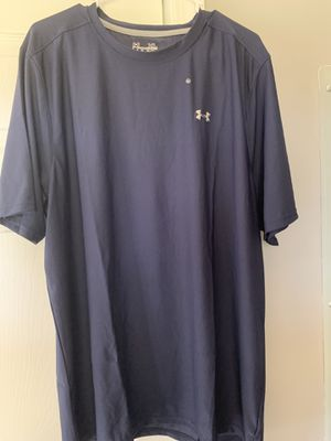 Under armour dri-fit size XL navy blue for Sale in Cadwell, GA