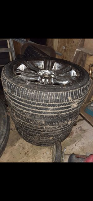 Rims #20 tires 50% universal for Sale in Fort Washington, MD