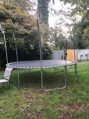10-12 ft trampoline for Sale in Joint Base Lewis-McChord, WA