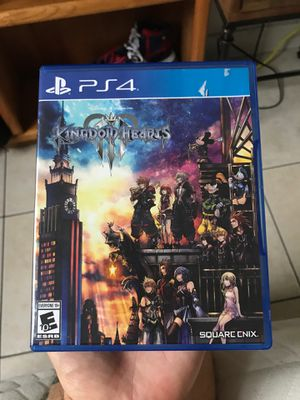 Kingdom hearts 3 ps4 for Sale in Lighthouse Point, FL