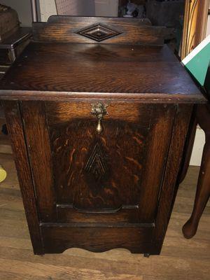Antique scuttle box for Sale in Little Rock, AR