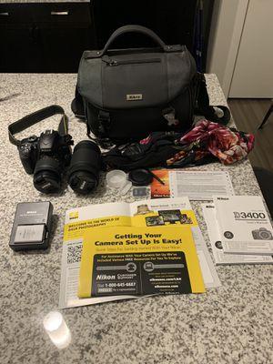 Nikon DSLR D3400 Camera for Sale in San Antonio, TX