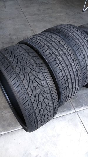 275/25/24 brand new tires 24in rims compatible for Sale in Lake View Terrace, CA