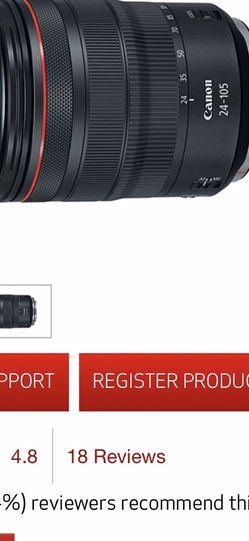 canon camera lens for Sale in Palo Alto,  CA