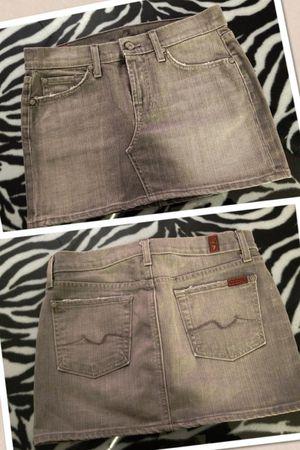 *Brand New* Gray Denim Skirt by Seven for Sale in Las Vegas, NV