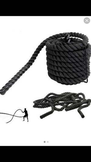 "1.5"" 30 Ft Strength Training Battle Rope Workout Exercise Fitness Climbing Rope for Sale in Riverside, CA"