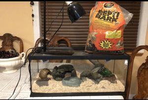 Snake enclosure set up for Sale in Burien, WA