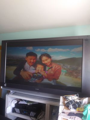 Tv. Sony 65. inch it is in a good state and it works good for Sale in Hyattsville, MD