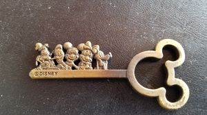 Brass Key With Disney Characters on it for Sale in Williamstown, NJ