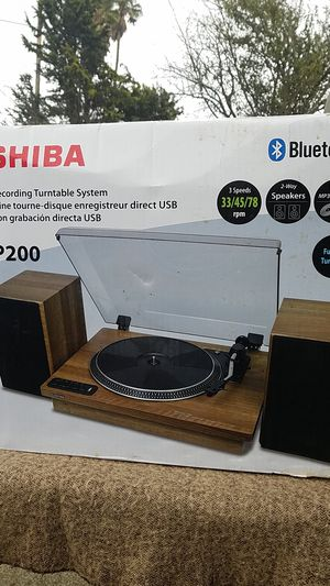 Toshiba Bluetooth turntable system for Sale in HILLTOP MALL, CA