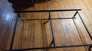 Metal bed foundation OBO for Sale in Monroe, MI
